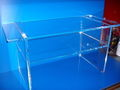 Table, bureau en plexiglas meuble transparente sur mesure